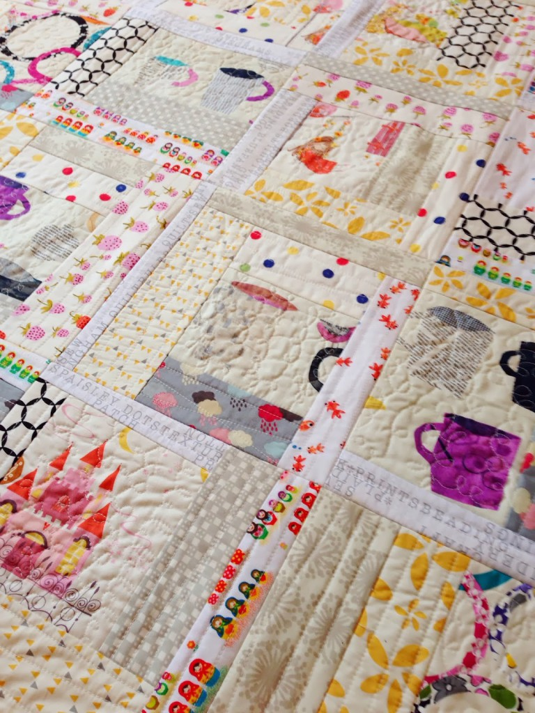 Quilt As You Go Log Cabin Quilting In The Rain