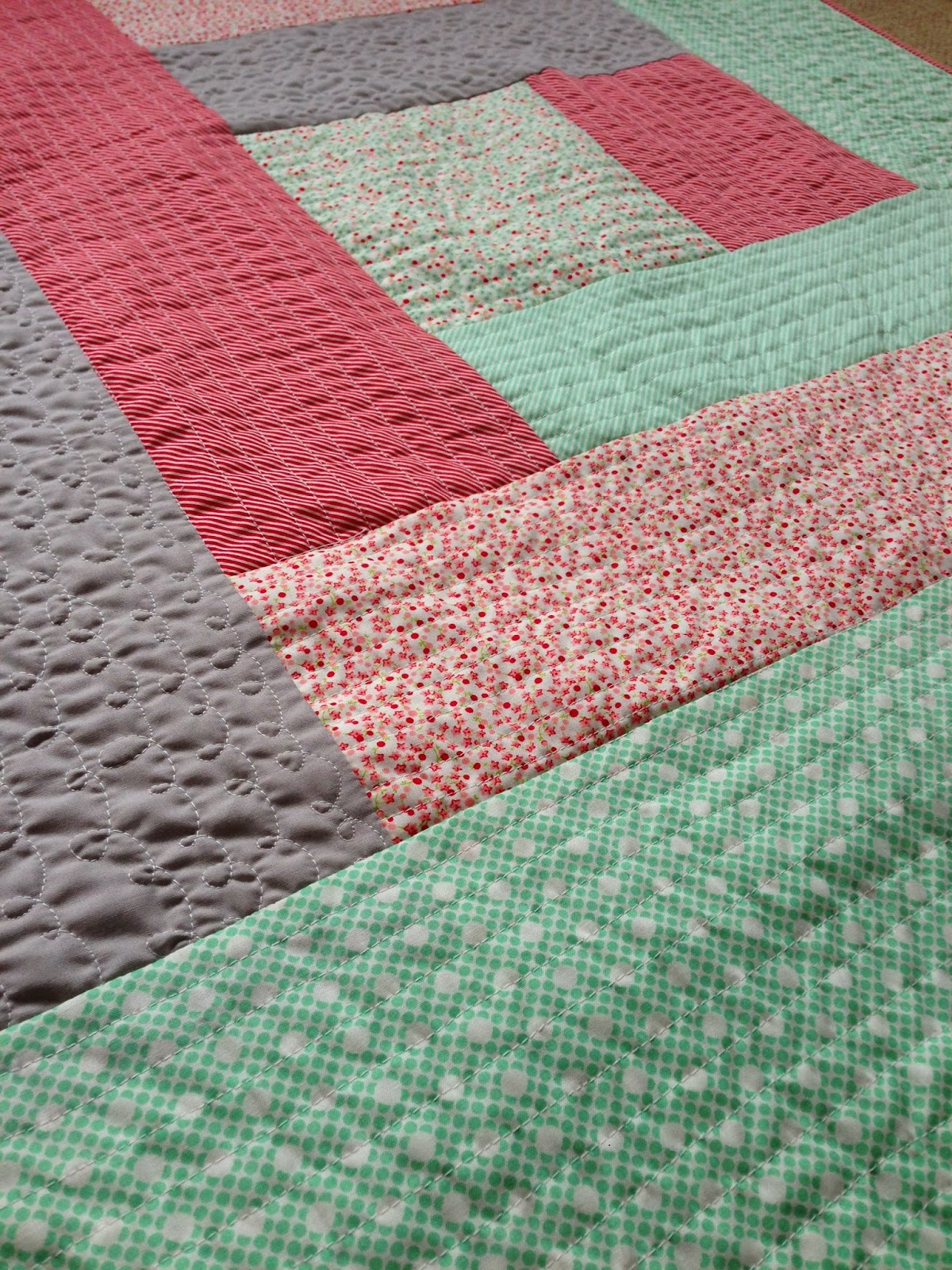 Quilt As You Go Log Cabin Tutorial