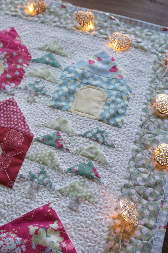 Cozy Cabins Quilt Free Pattern Quilting In The Rain