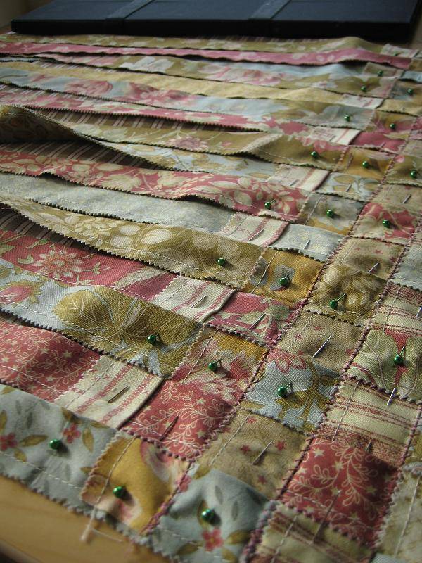 Woven Jelly Roll Rug Tutorial