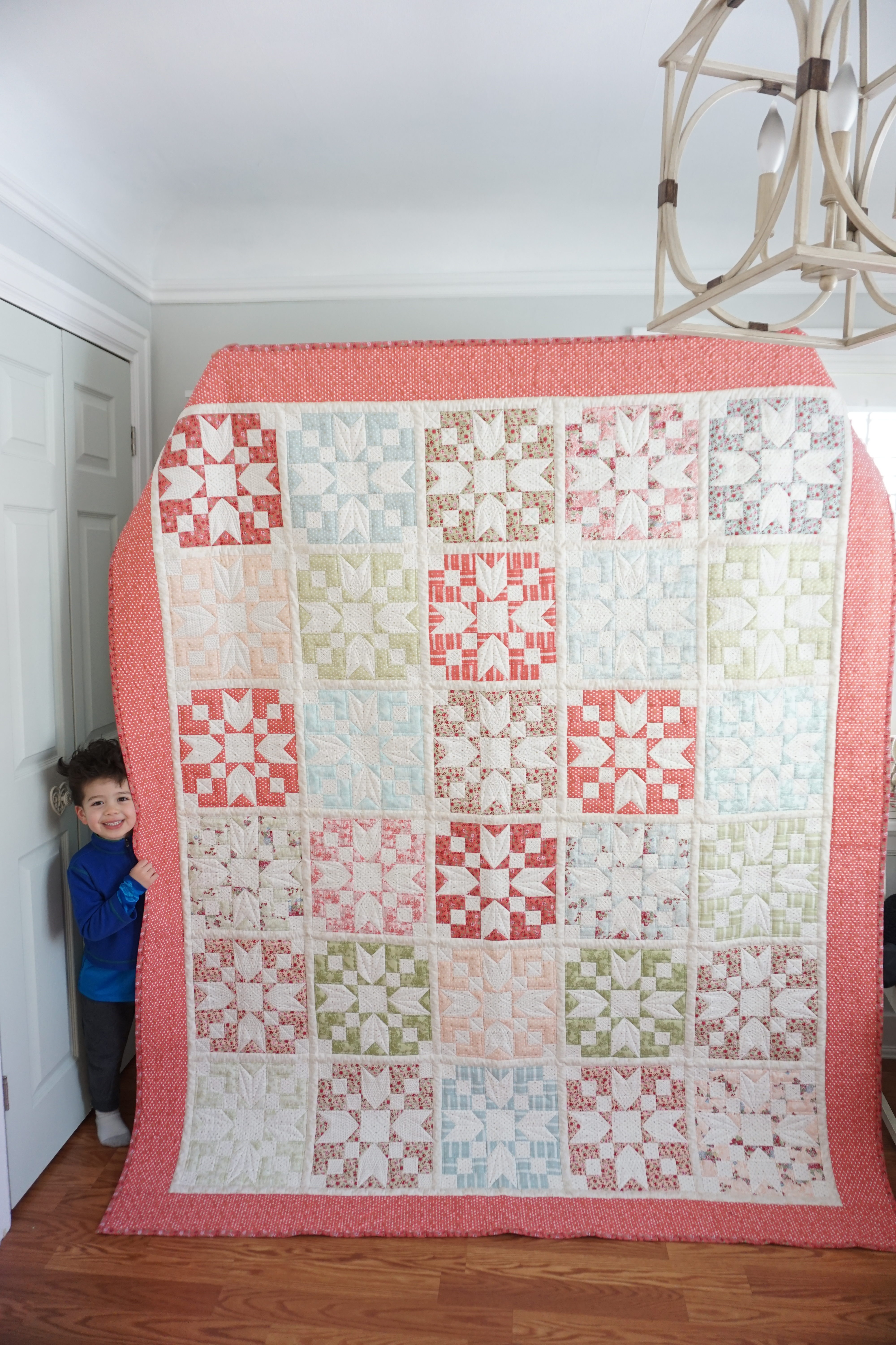 Loyal Heights Quilt – free pattern :)